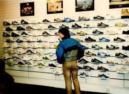 Trainers, Wade Smith shop 1980's