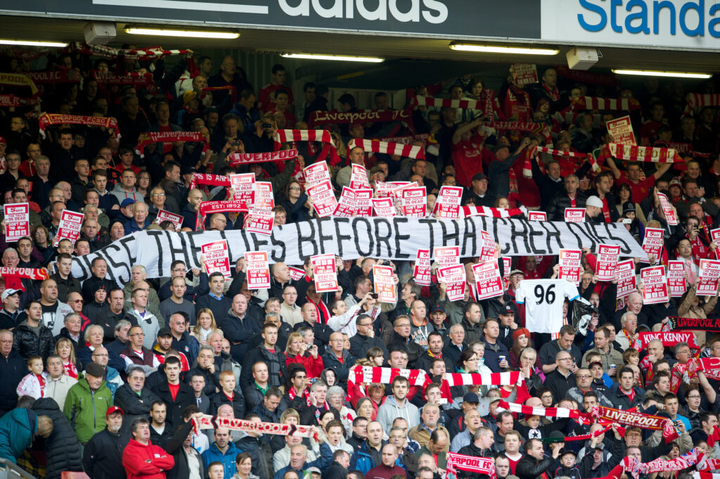 Liverpool Fans Justice For The 96