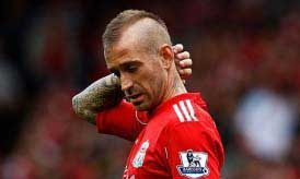 Raul Meireles at Liverpool FC