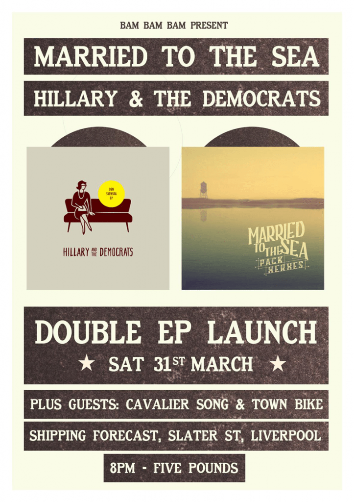 EP Launch Saturday 31st March
