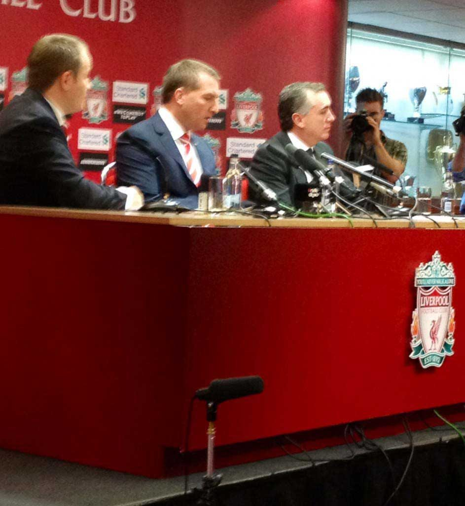 Brendan Rodgers press conference, Anfield