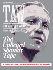 The Anfield Wrap Magazine Issue 01 cover