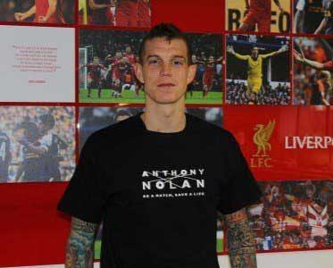 Daniel Agger is one of the LFC stars adding their name to the campaign