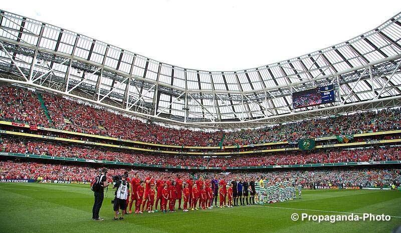 LFC play Celtic, Dublin Decider (Pic: David Rawcliffe / Propaganda)