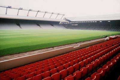 ALL CHANGE: The standing Kop and the Kemlyn Road