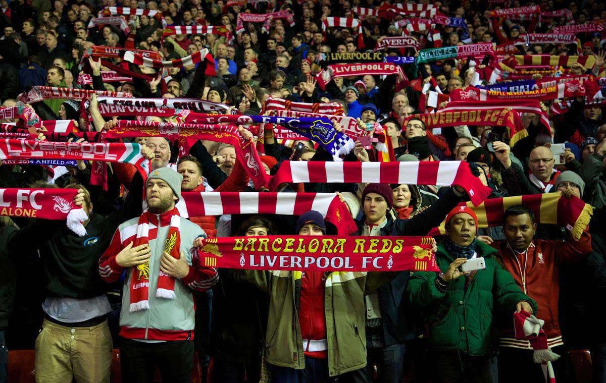 """IT'S """"LIVERPOOL ARE"""". NOT LIVERPOOL """"IS""""."""