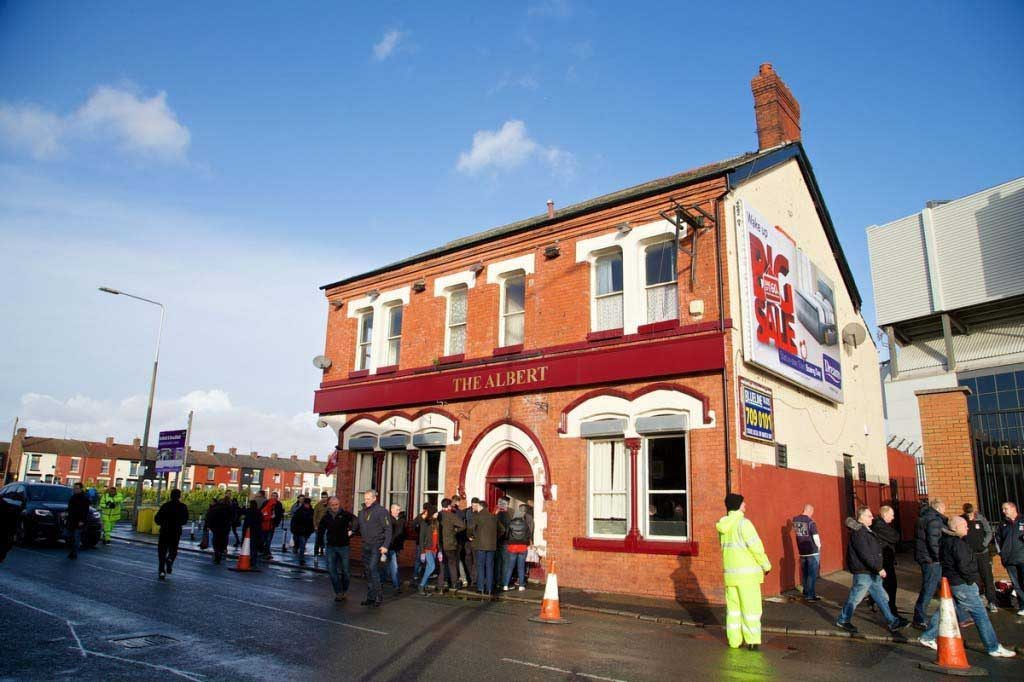 Many fans travel to L4 to watch Liverpool games in Anfield pubs. Pic: Propaganda