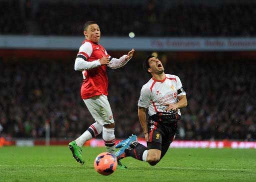 ARSENAL 2 LIVERPOOL 1: WEBBED AGAIN