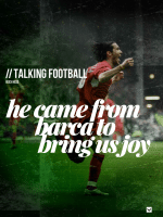 Luis Garcia - from Barca, with joy