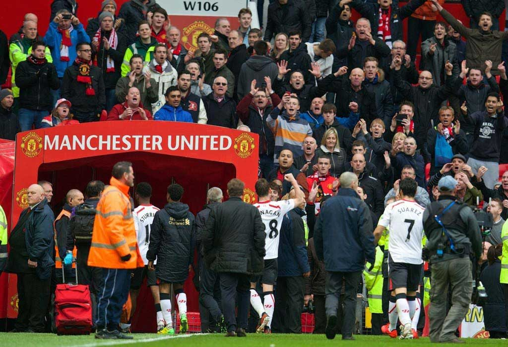 Football - FA Premier League - Manchester United FC v Liverpool FC