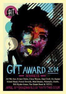GIT AWARDS 2014 - POSTER