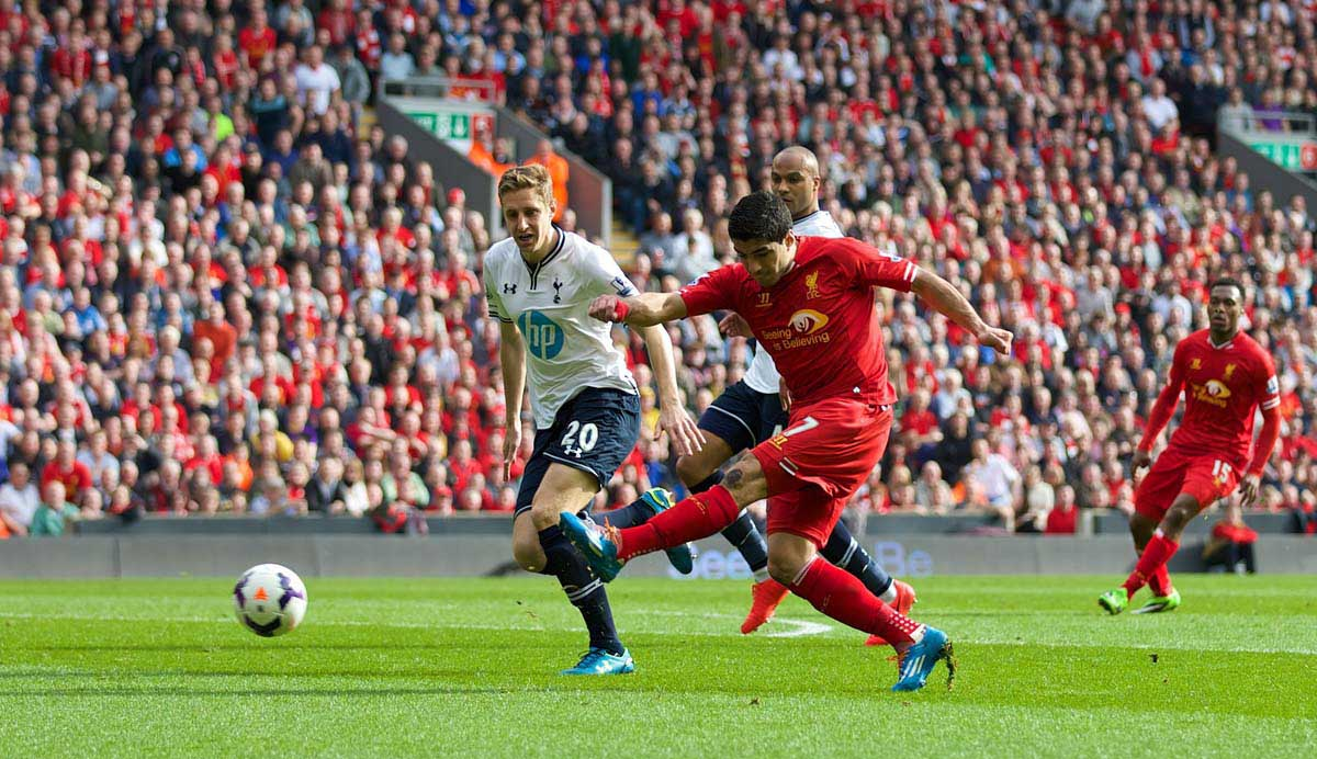 Liverpool 4 Tottenham Hotspur 0
