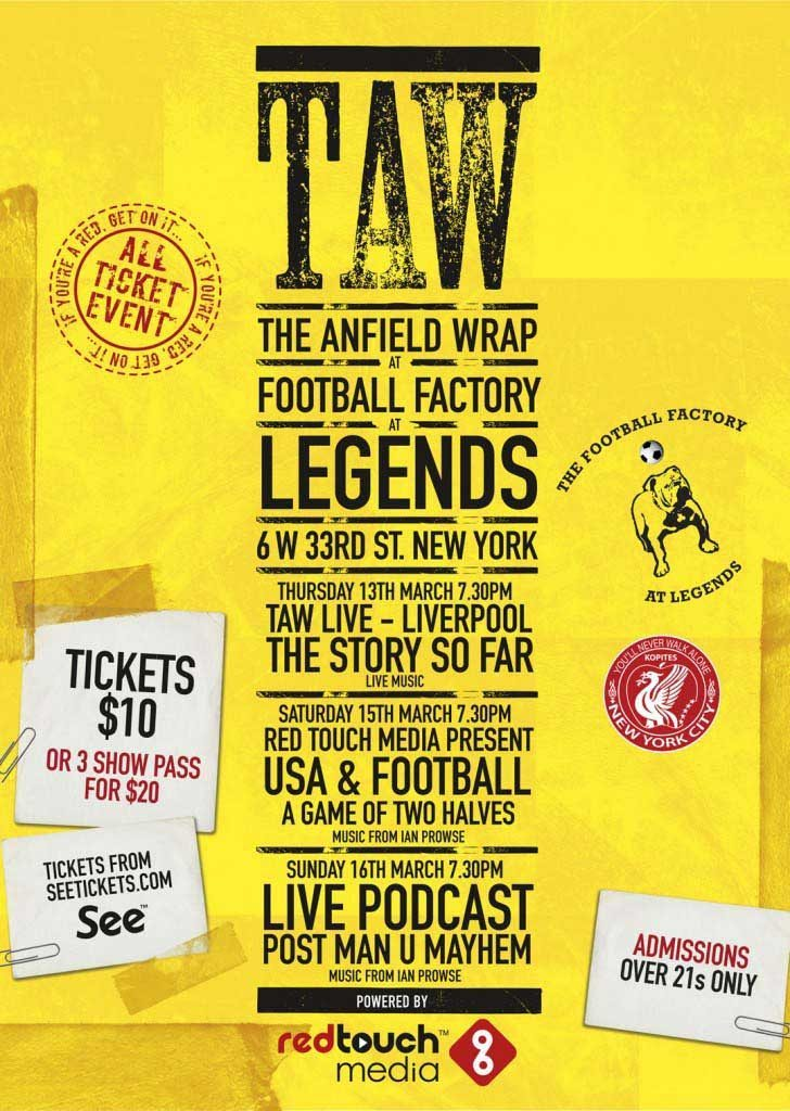 TAW NYC A3 poster