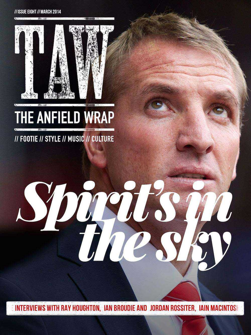 THE ANFIELD WRAP MAGAZINE #8: SPIRIT'S IN THE SKY