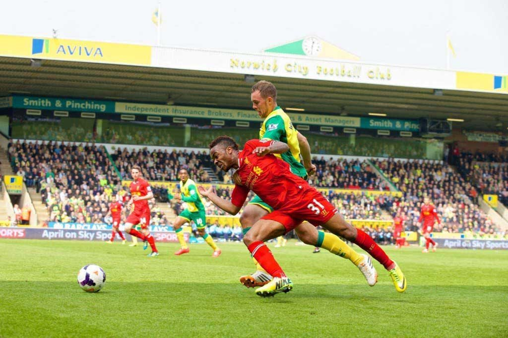 Football - FA Premier League - Norwich City FC v Liverpool FC