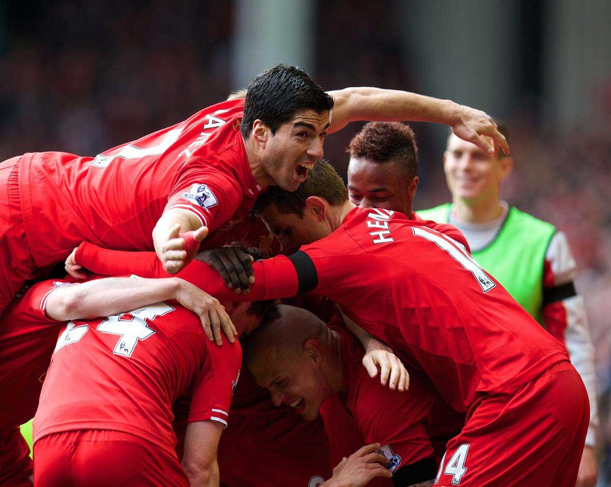 Football - FA Premier League - Liverpool FC v Manchester City FC