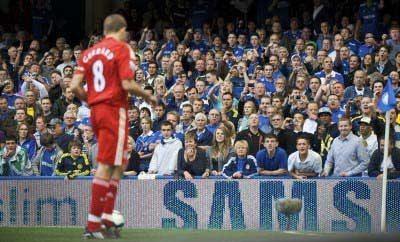 Liverpool Steven Gerrard Free Kick Chelsea 2009