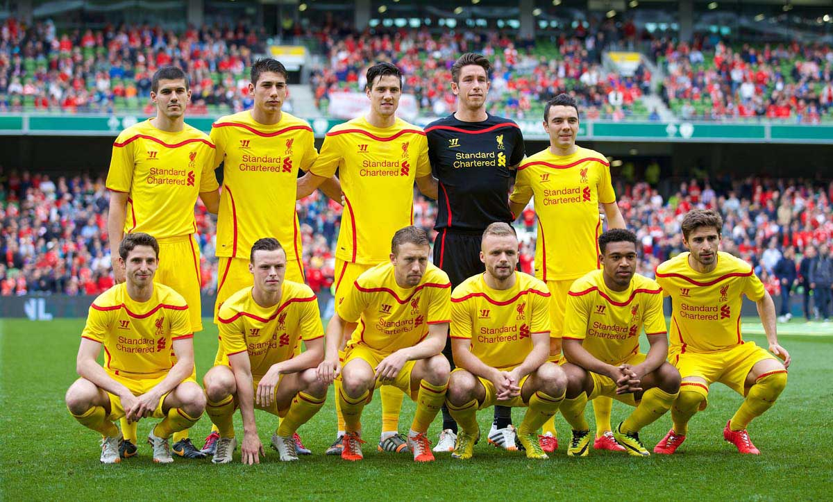 LIVERPOOL FC: WISHING THE DAYS AWAY