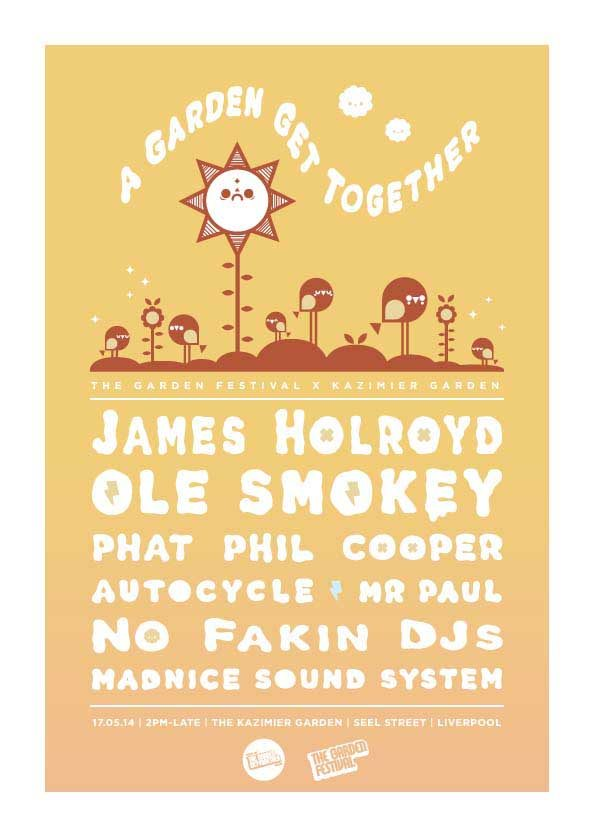 The Garden Festival Get Together - Liverpool - Sat 17th May