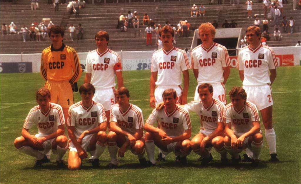 URSS CCCP USSR MEXICO 86 WORLD CUP