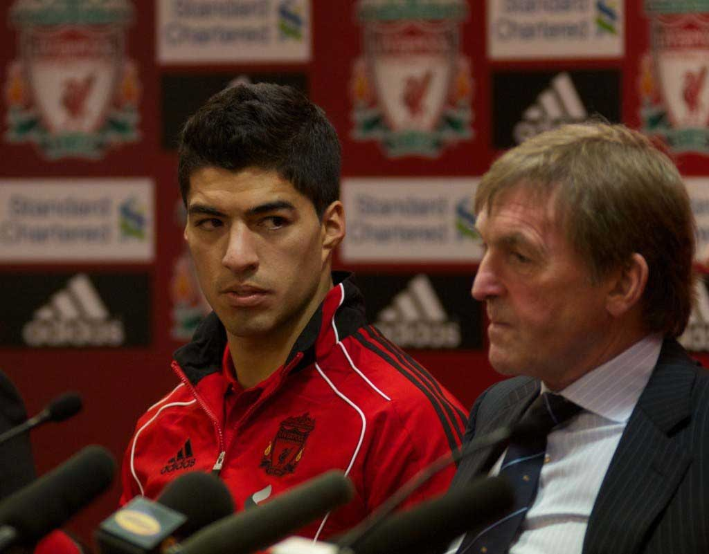 Football - Liverpool sign Luis Suarez & Andy Carroll