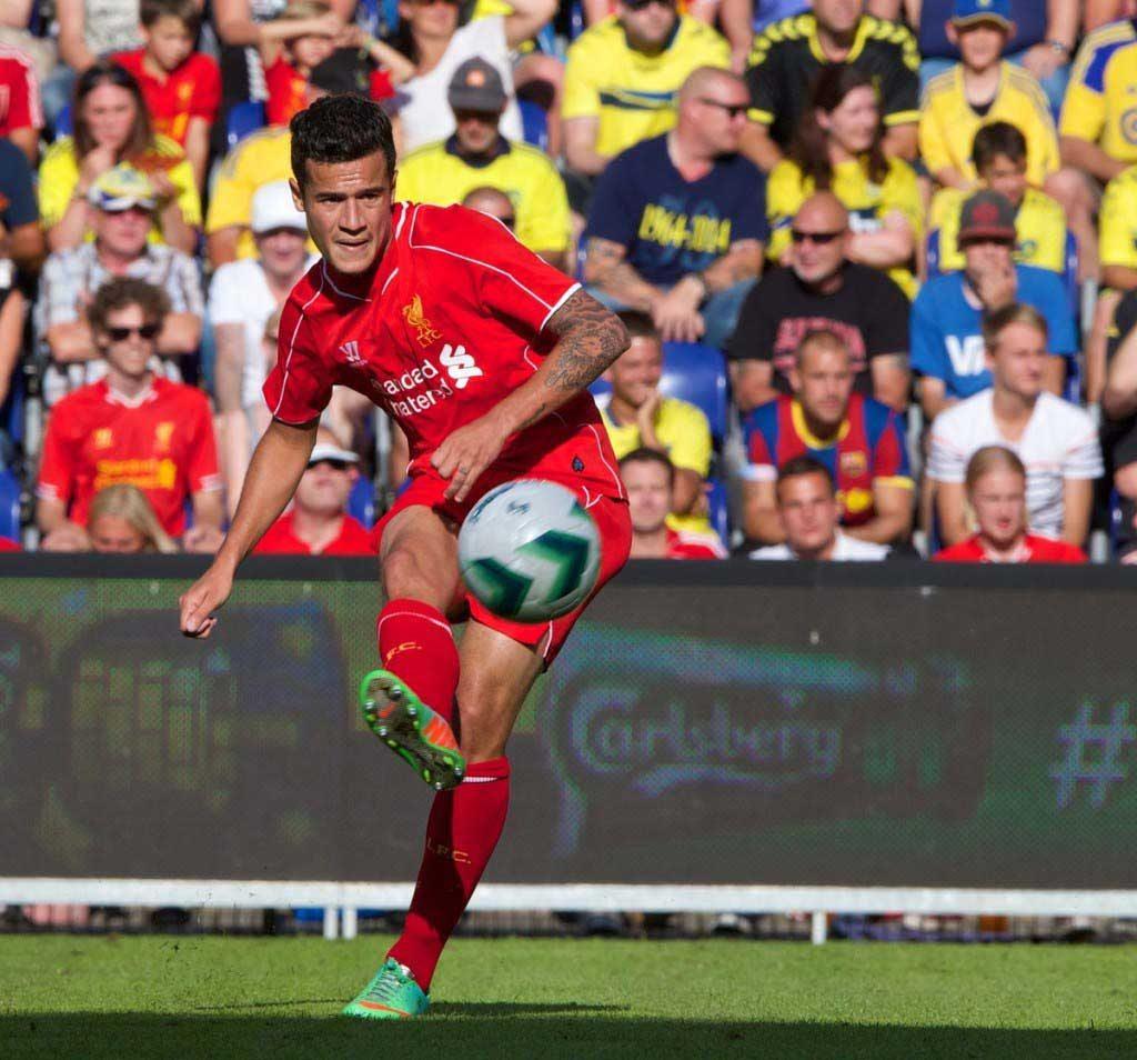 Football - Liverpool FC Preseason Tour 2014 - Brøndby IF v Liverpool FC
