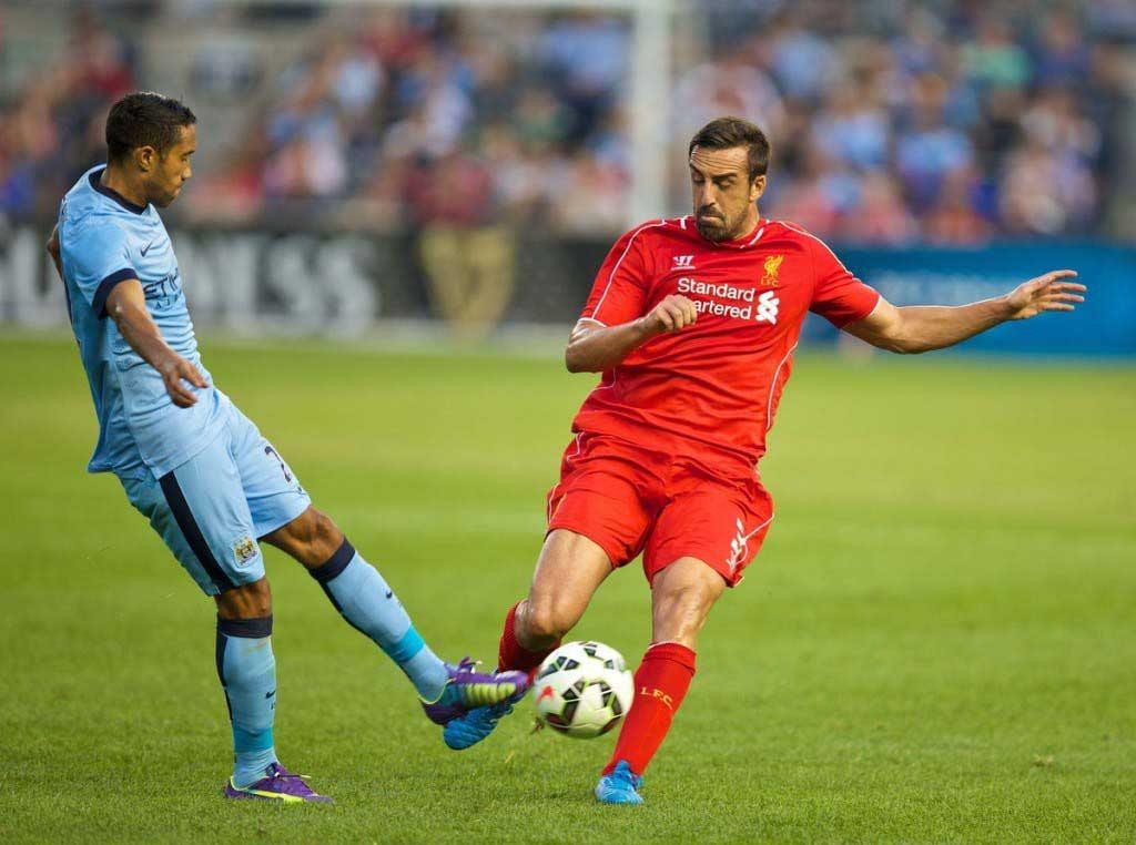 Football - Liverpool FC Preseason Tour 2014 - Manchester City FC v Liverpool FC