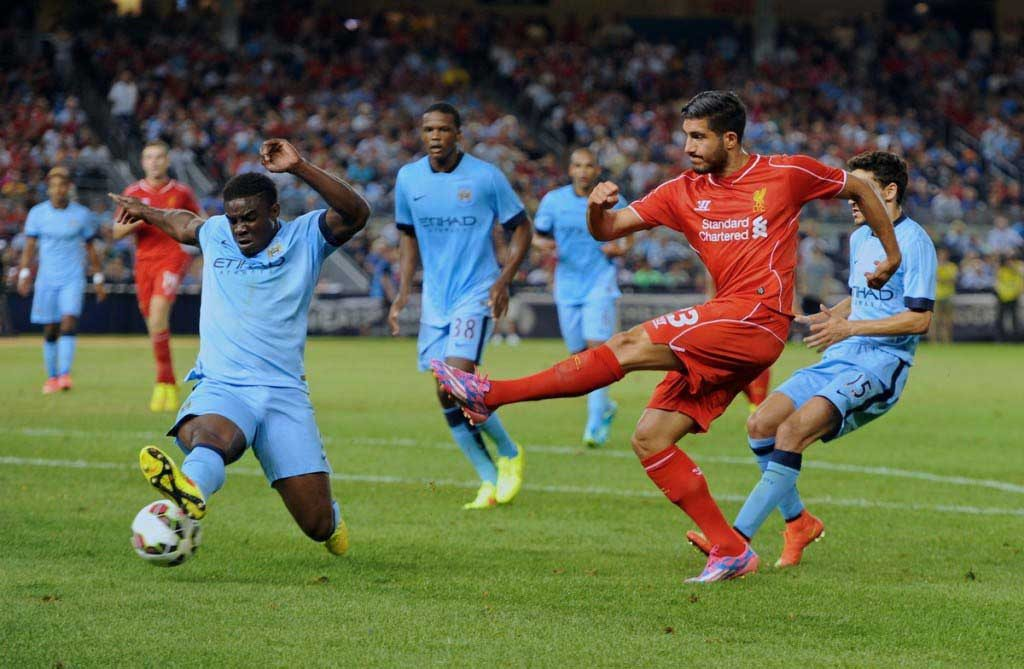 Football - Liverpool FC Preseason Tour 2014 - Manchester City FC v Liverpool FC