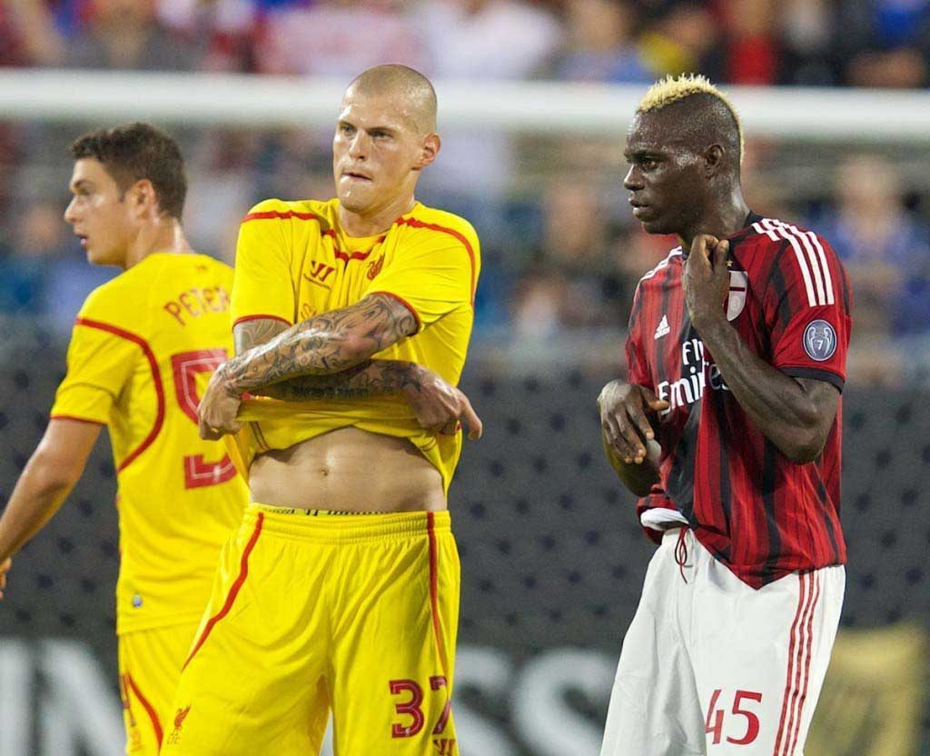 Football - Liverpool FC Preseason Tour 2014 - AC Milan v Liverpool FC