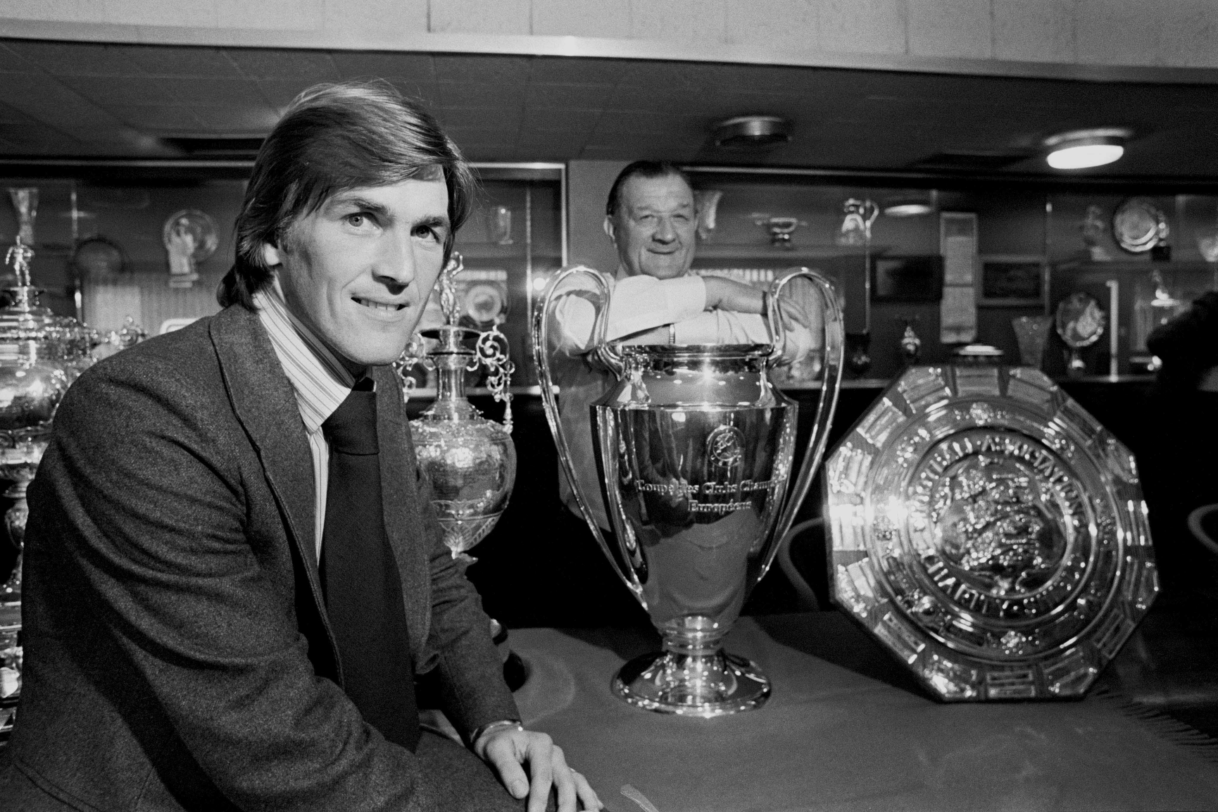 Soccer - Football League Division One - Kenny Dalglish Signs For Liverpool - Anfield