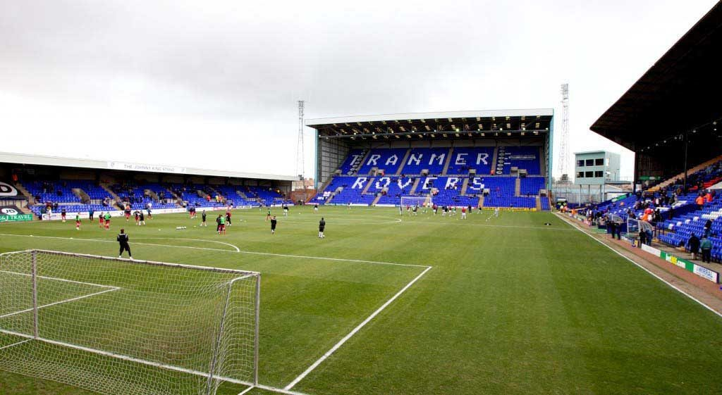 Football - Football League One - Tranmere Rovers FC v Charlton Athletic FC