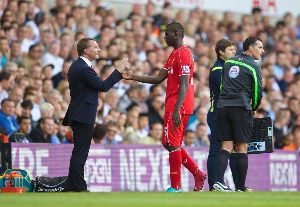 MARIO SMART: Balotelli did OK on his debut for Liverpool but Rodgers will demand more. Pic: David Rawcliffe