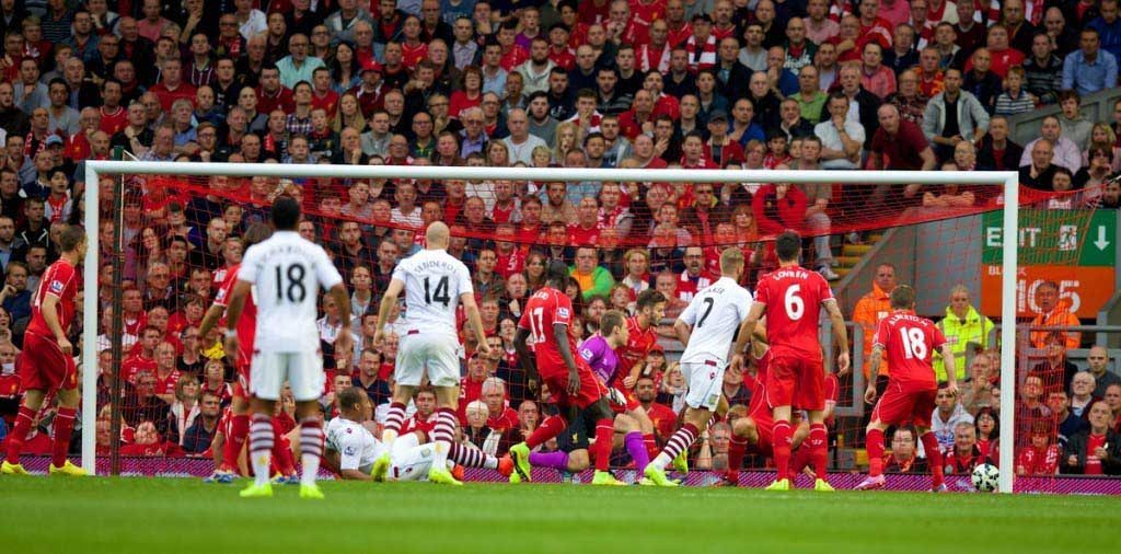 Football - FA Premier League - Liverpool FC v Aston Villa FC