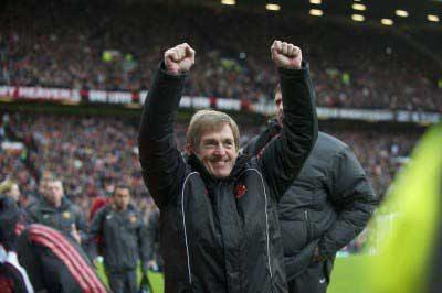 Kenny Dalglish Celebration Anfield Liverpool