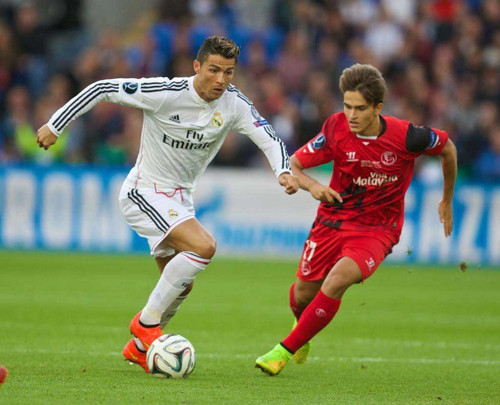 Football - UEFA Super Cup - Real Madrid CF v Sevilla FC