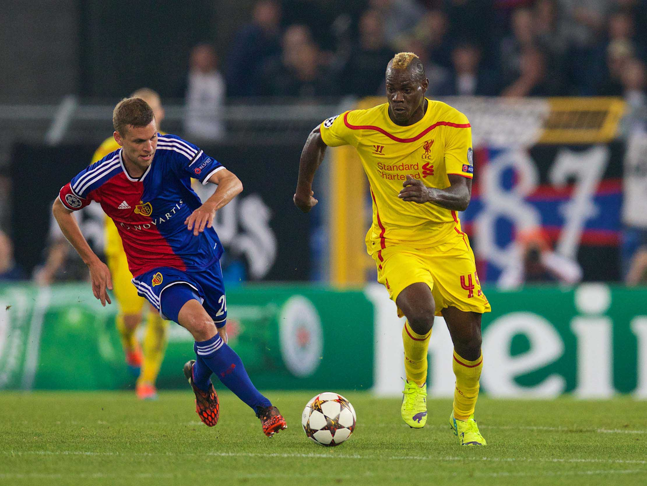 European Football - UEFA Champions League - Group B - FC Basel 1893 v Liverpool FC