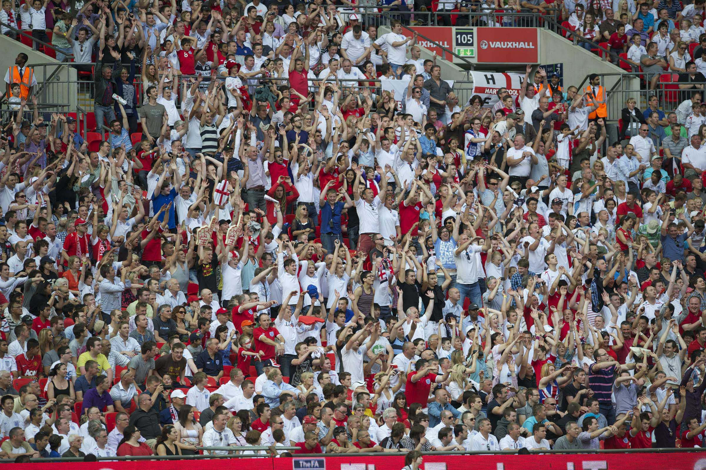 International Football - UEFA Euro 2012 - Qualifying Group G - England v Switzerland