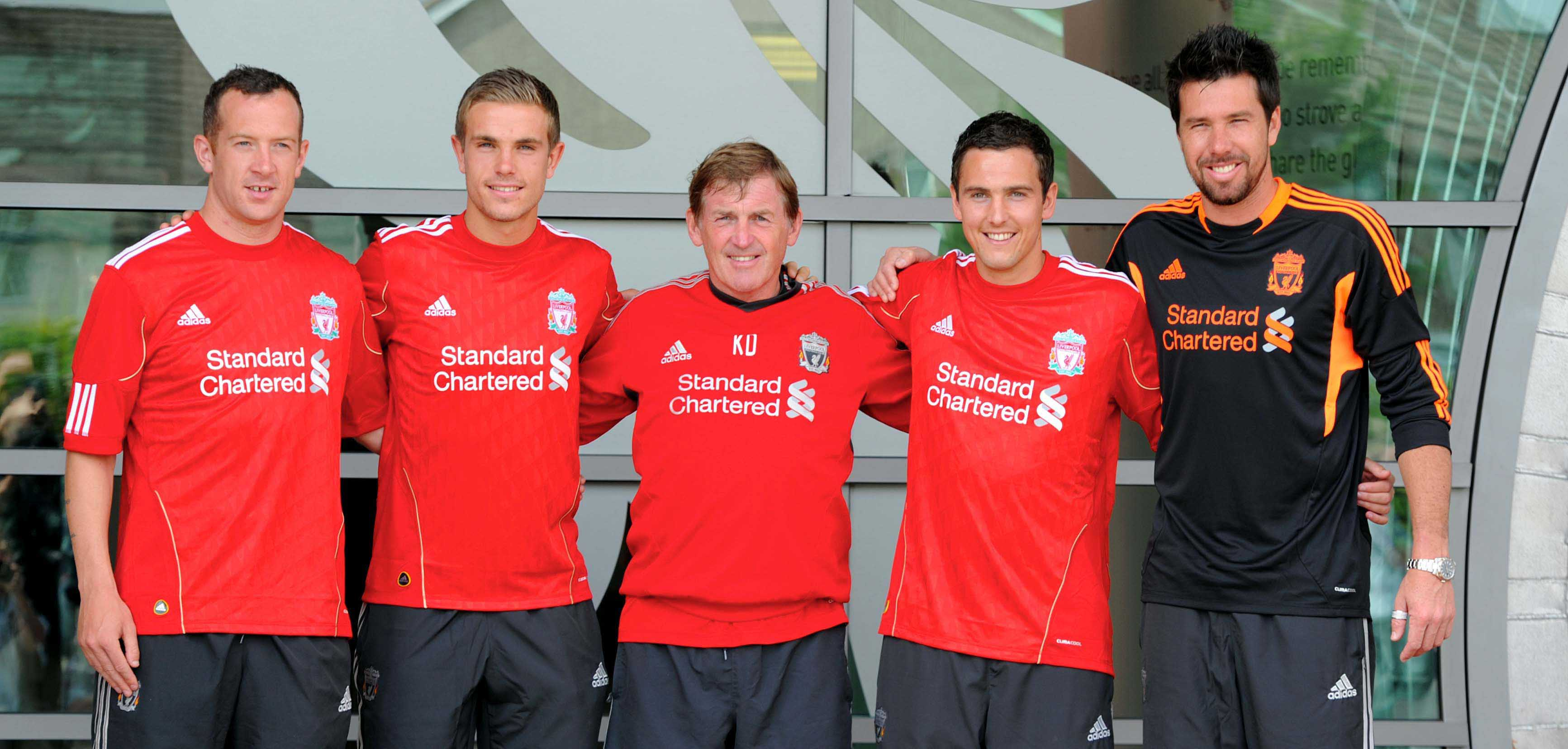 Football - Liverpool FC's new signings