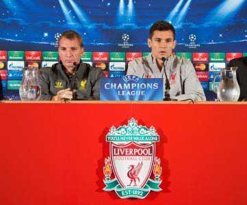 Brendan Rodgers Dejan Lovren Champions League