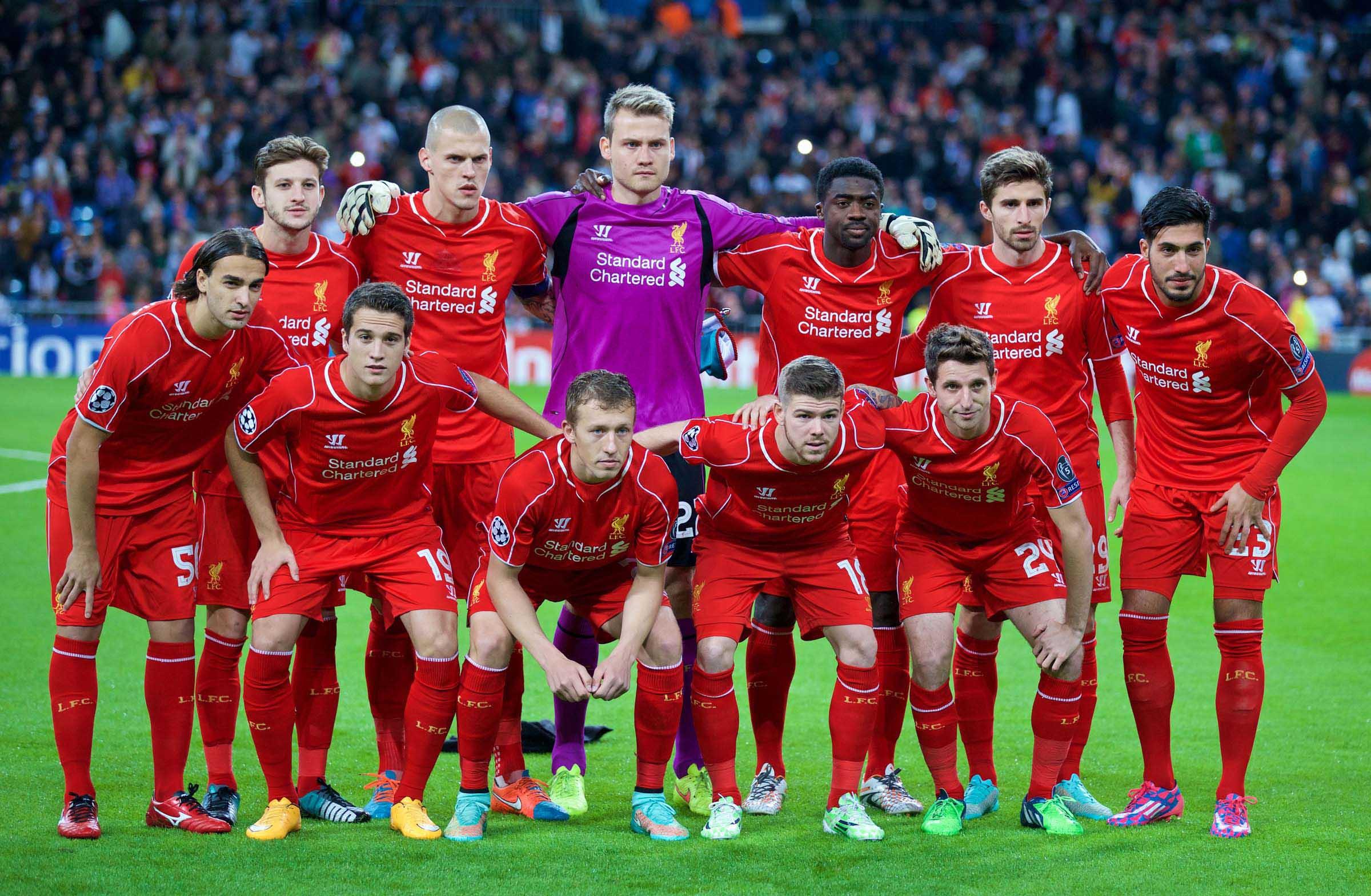 Madrid Liverpool