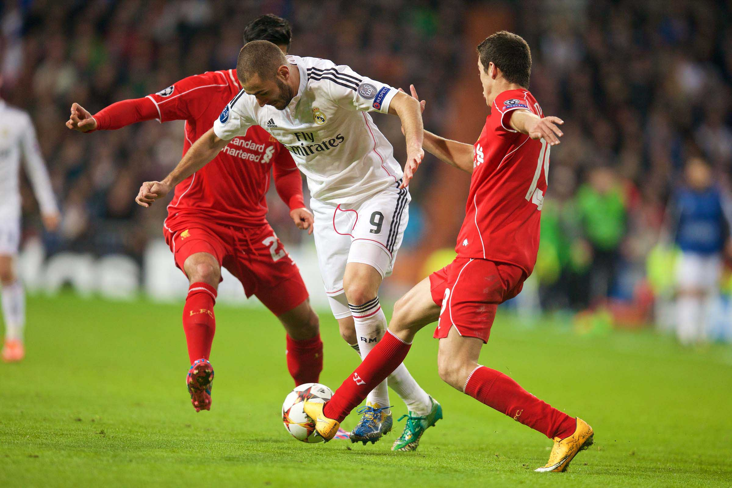 European Football - UEFA Champions League - Group B - Real Madrid CF v Liverpool FC