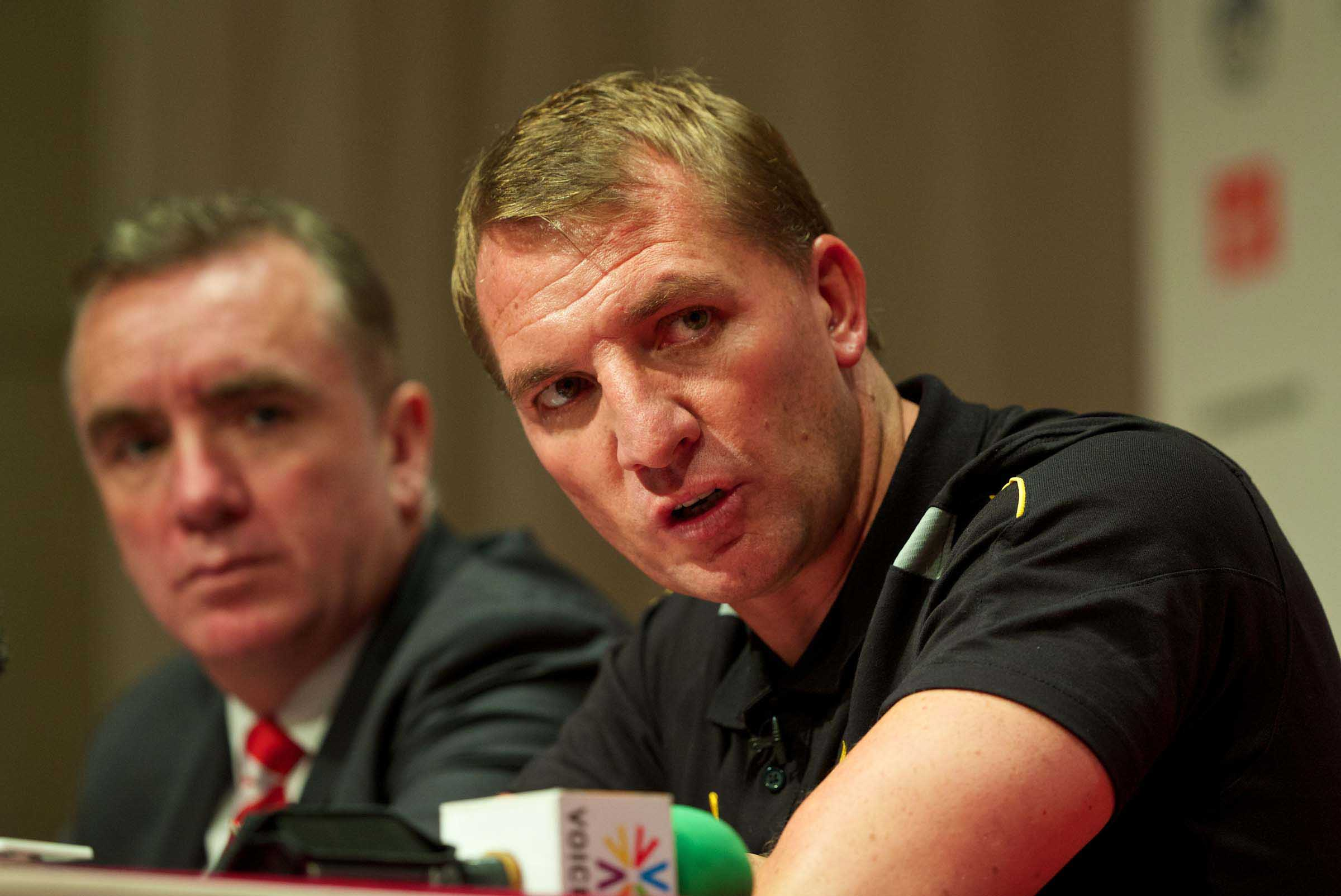 Football - Liverpool FC Preseason Tour 2013 - Liverpool Press Conference