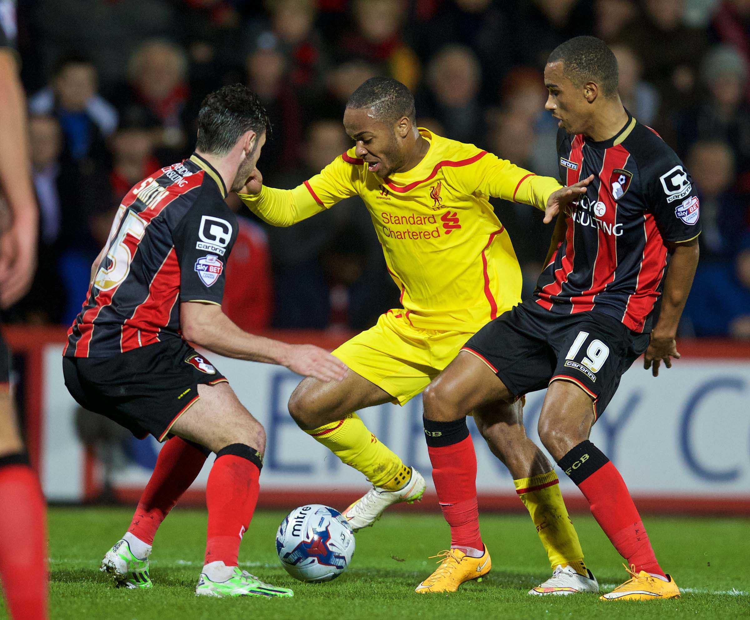 AFC BOURNEMOUTH 1 LIVERPOOL 3