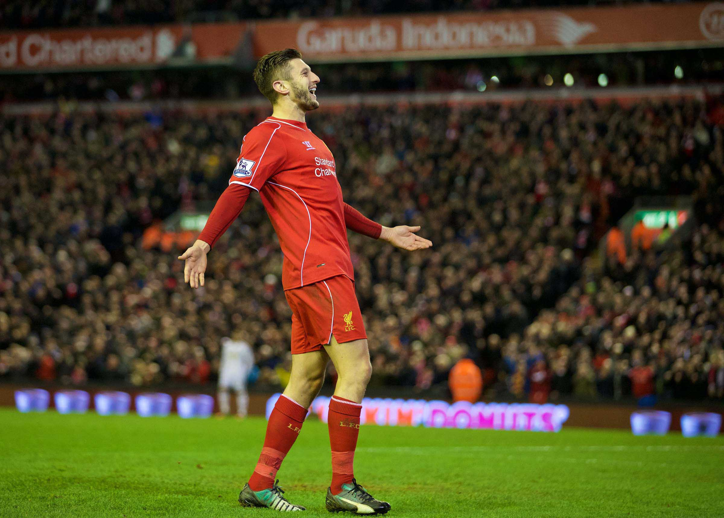 LIVERPOOL FOUR (4) SWANSEA ONE (1)