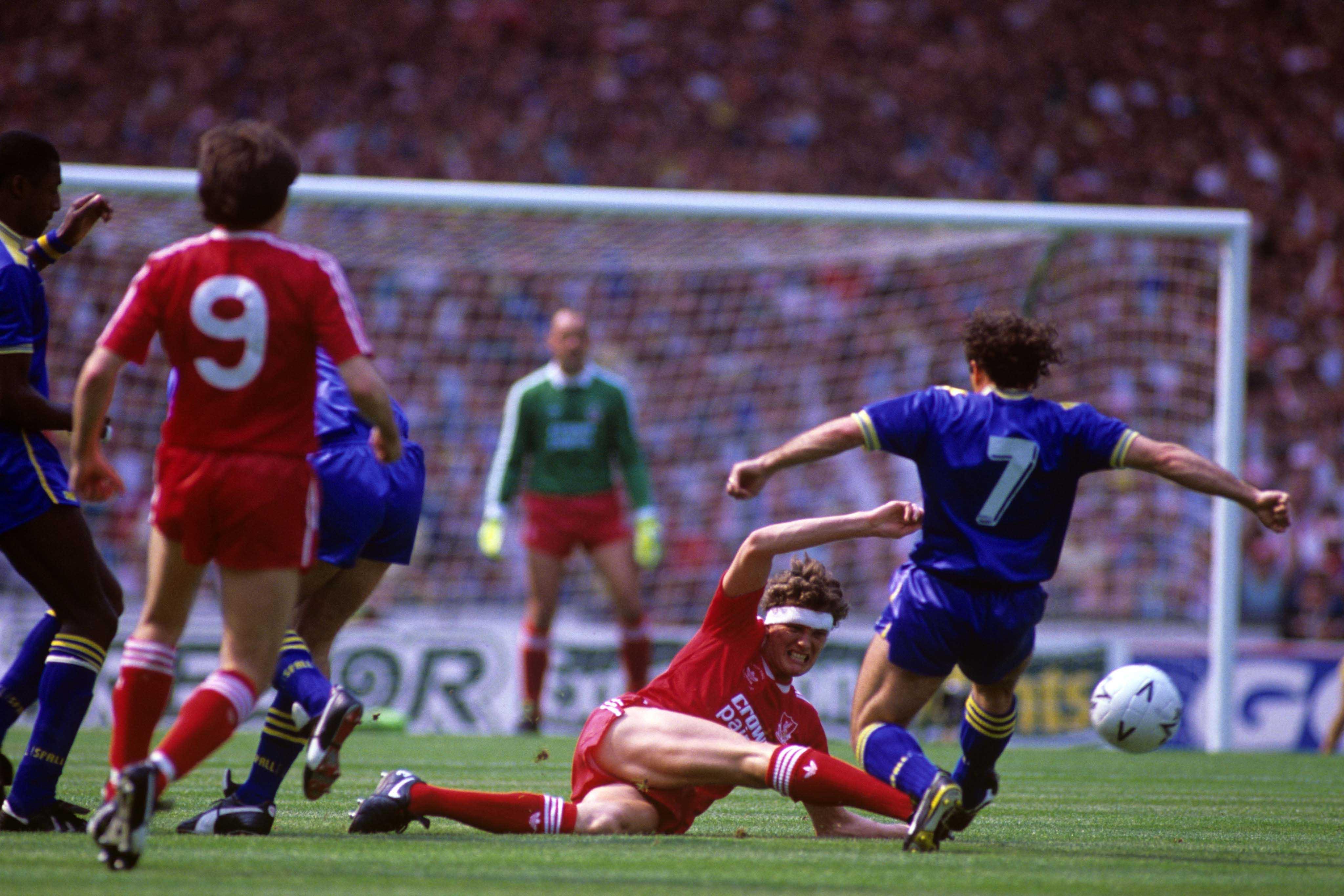Soccer - FA Cup - Final - Liverpool v Wimbledon - Wembley Stadium