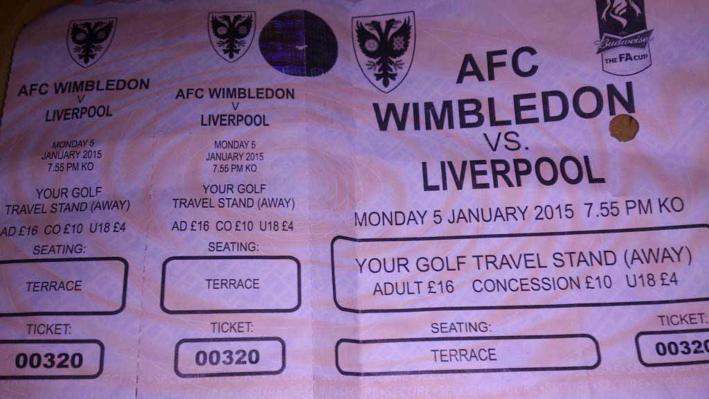 Wimbledon Ticket