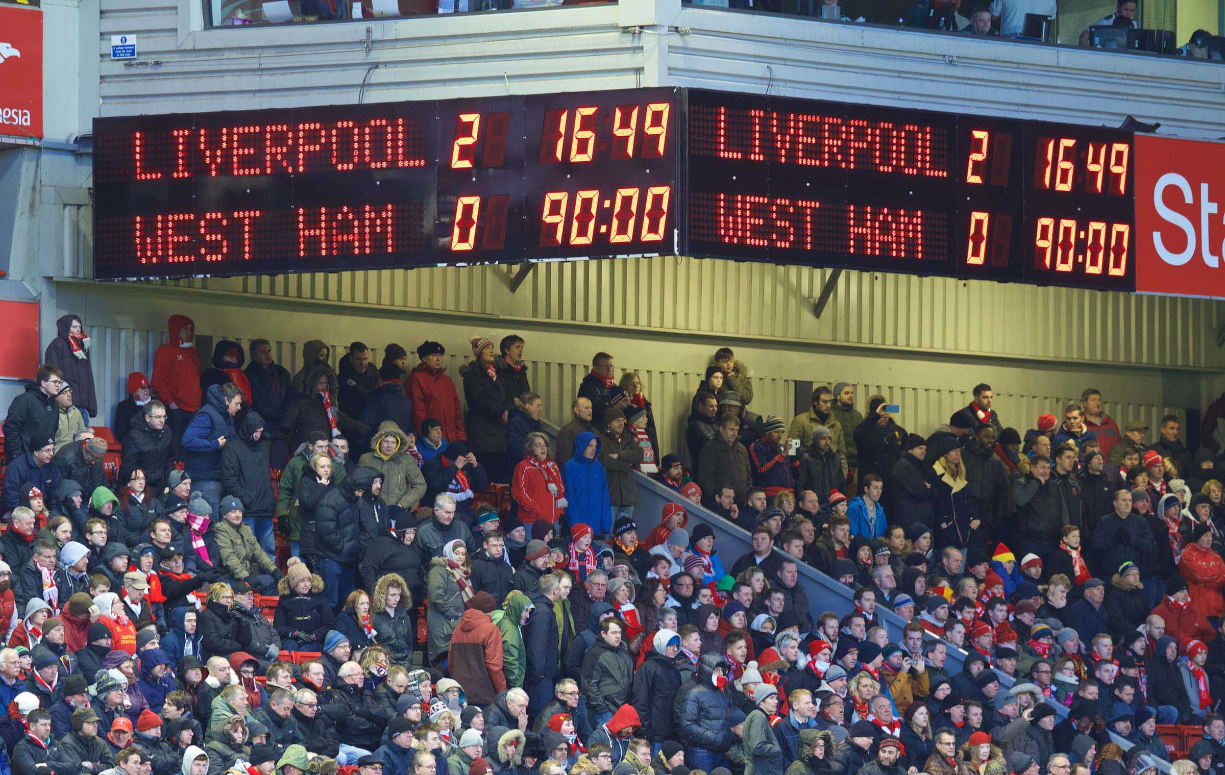 Football - FA Premier League - Liverpool FC v West Ham United FC