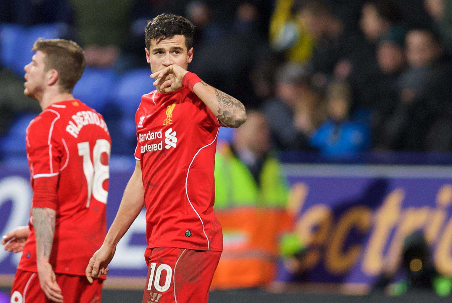 MATCH REVIEW: BOLTON 1 LIVERPOOL 2