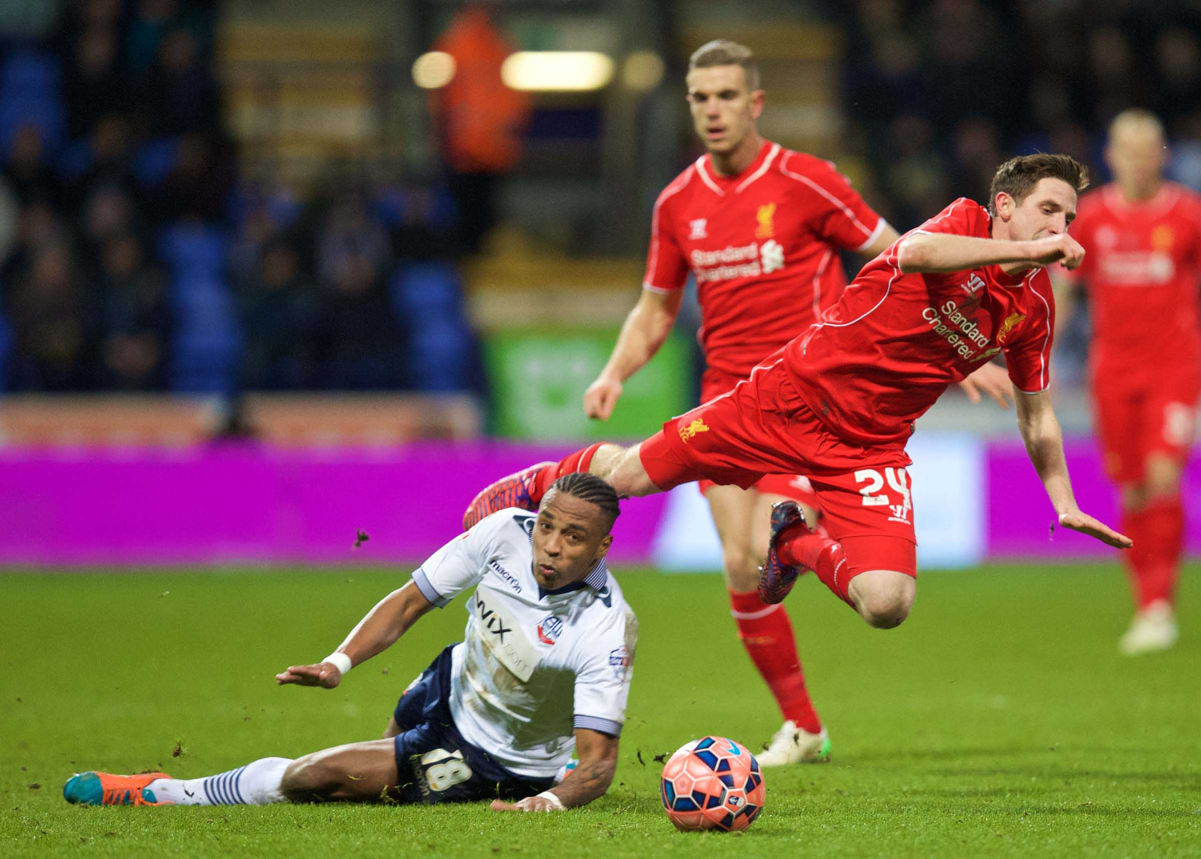 Football - FA Cup - 4th Round Replay - Bolton Wanderers FC v Liverpool FC