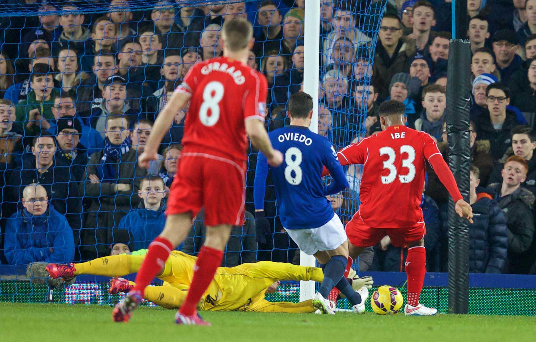 Football - FA Premier League - Everton FC v Liverpool FC